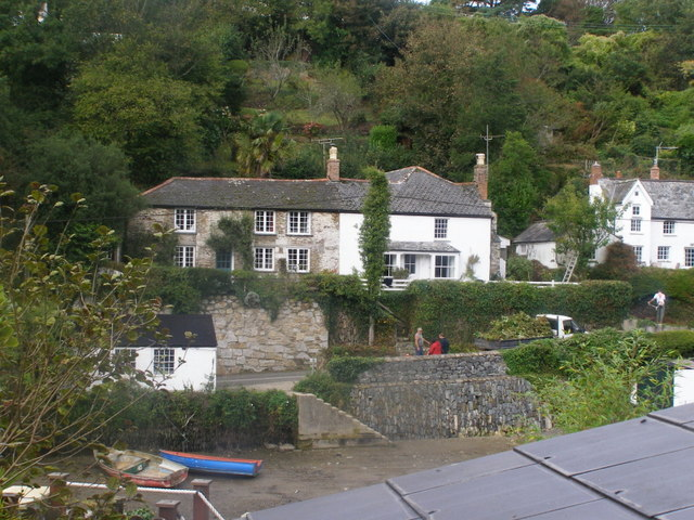 Across the river At Helford