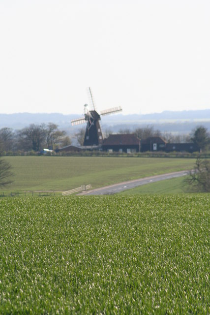Sarre Windmill from St Nicholas