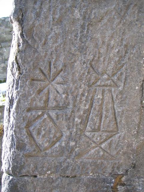 Moel Famau Jubilee Tower Hieroglyphs