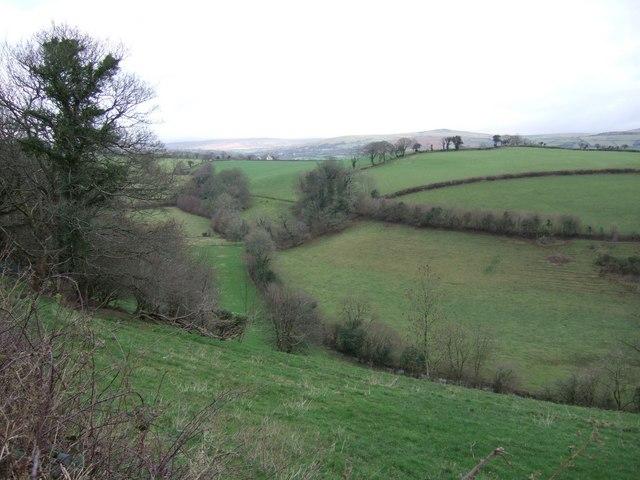 Valley below Kilworthy