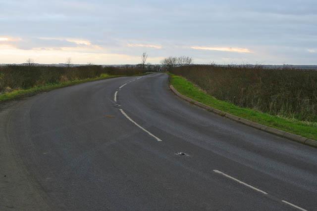 Waddingham Road near South Kelsey