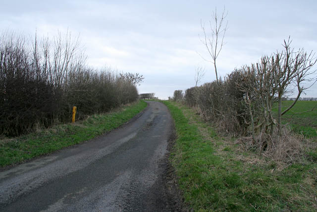 Country road off Grange Lane