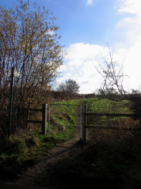 Footpath to Shepshed