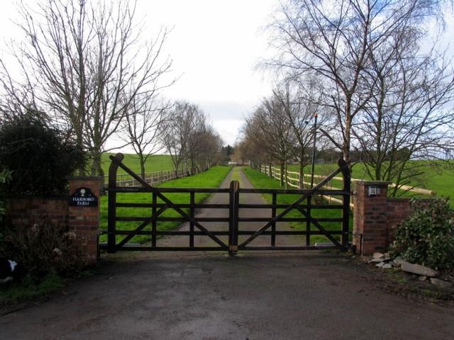 Harborough Farm Driveway