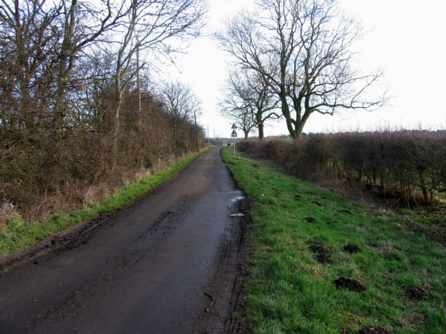 Route 6 towards Hallamford Road