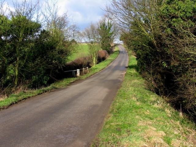 Whatton Road crosses a small stream
