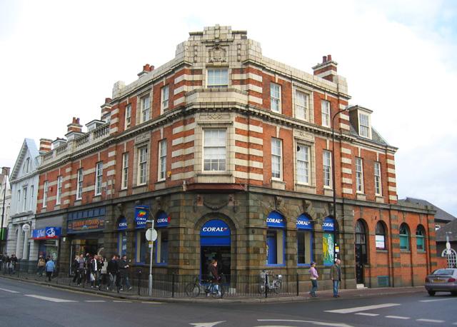 Corner building on Market Street