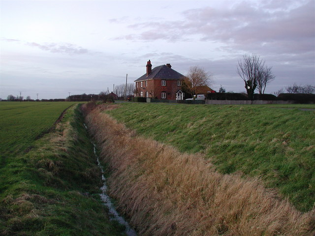 East Bank Road, Sunk Island
