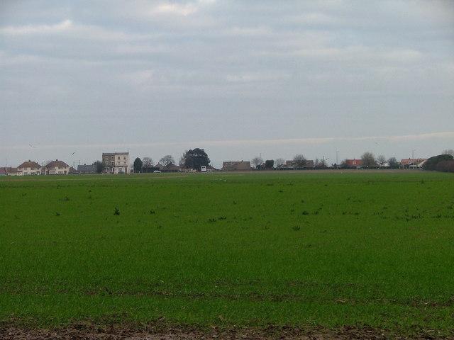 Open Field to Queen Berthas Estate