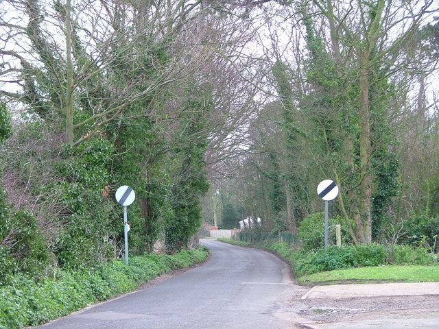 Lane out of Birchington