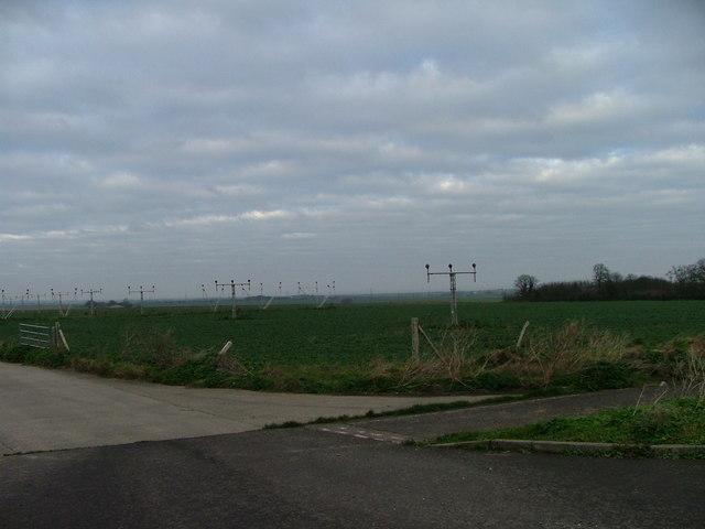Manston End of Runway Lights