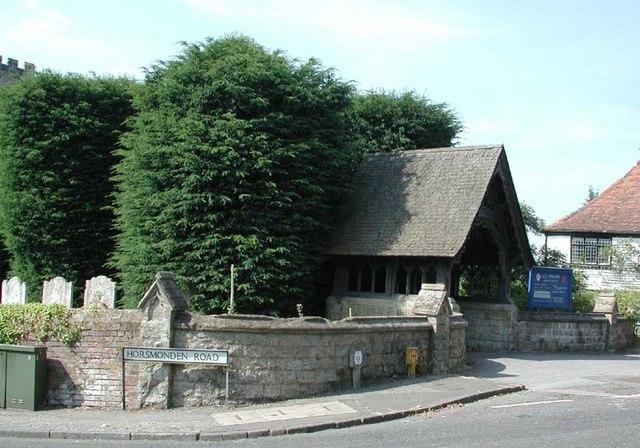 All Saints, Brenchley, Kent - Lychgate