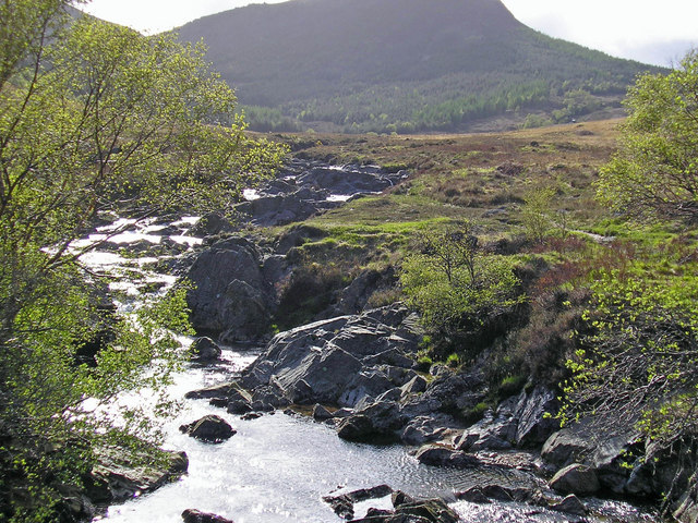View towards Goat Fell, Isle of Arran