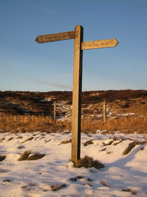 The Pennine Way at Standedge