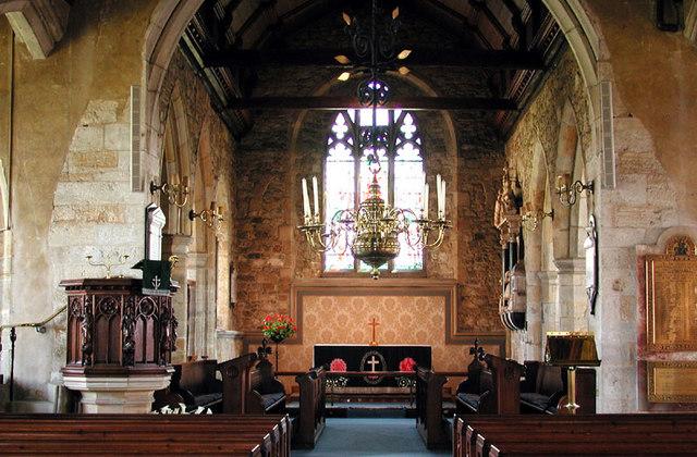 St Mary, Goudhurst, Kent - East end