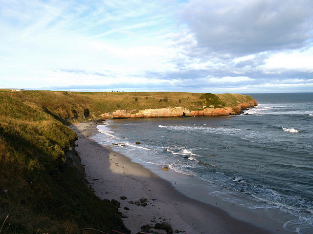 Beach at Sharper's Head, North of Berwick