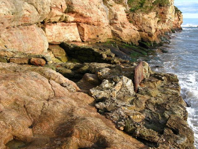 Cliffs, Sharper's Head, North of Berwick