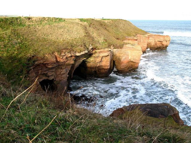 Cliffs from Berwickshire Coastal path