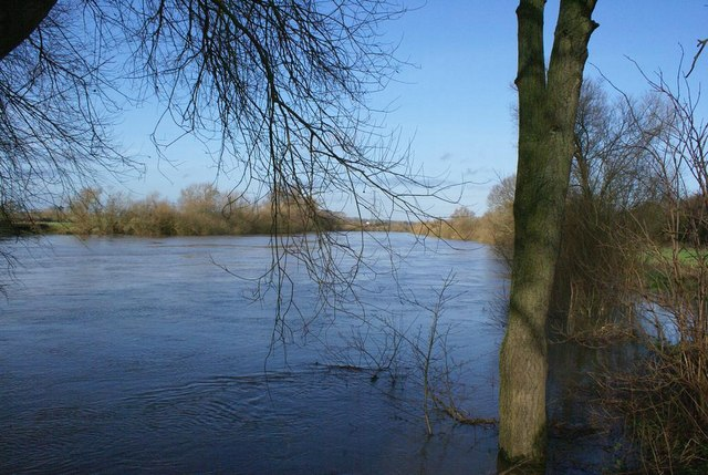 River Severn close to flood
