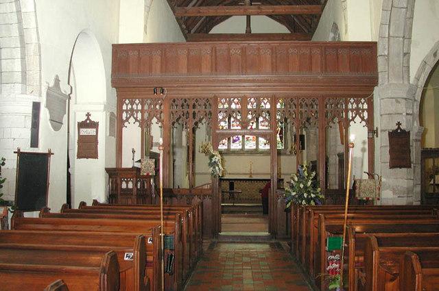 St Peter & St Paul, Shorne, Kent - East end