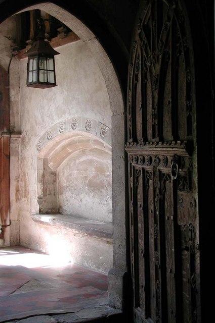 St Mary, Higham Old Church, Kent - Doorway