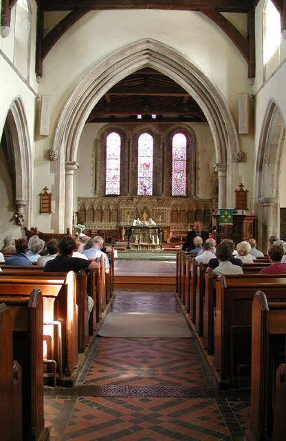 St Mary Magdalene, Cobham, Kent - East end
