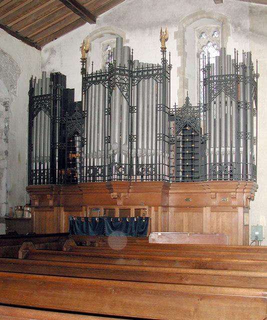 St Mary Magdalene, Cobham, Kent - Organ