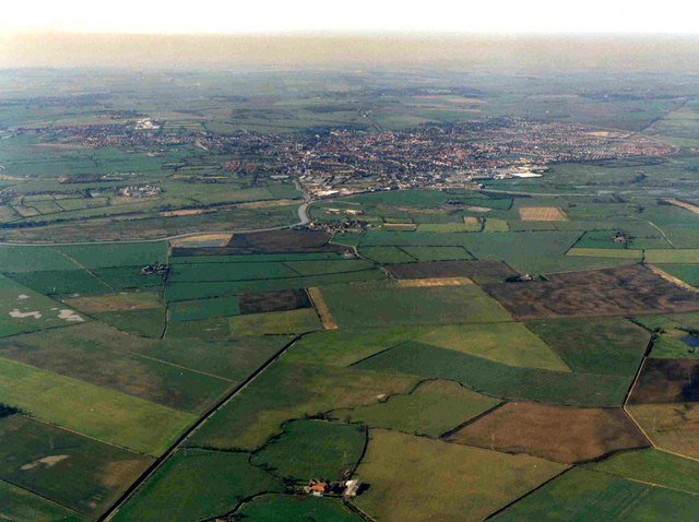 The view towards Beverley
