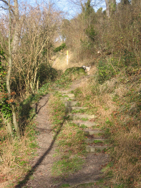 Footpath to the Totternhoe Castle
