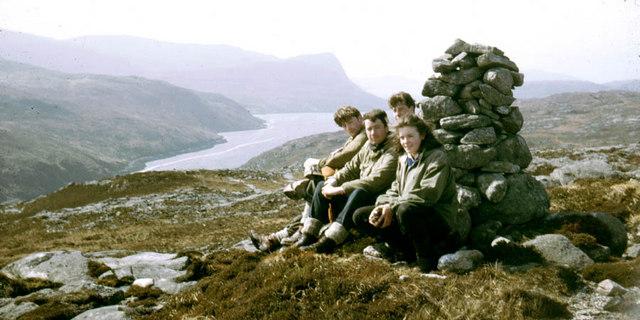 Summit cairn of Beinisbhal