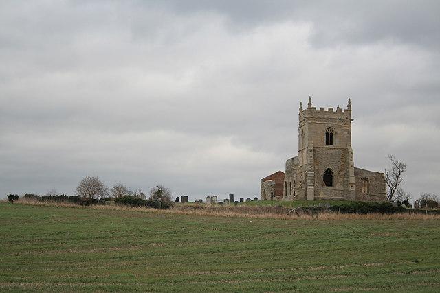 St Mary's Church ruins