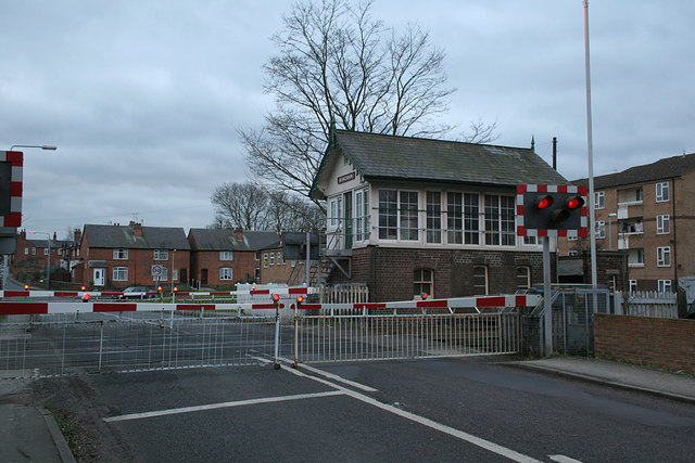 Bingham Signal Box and level crossing