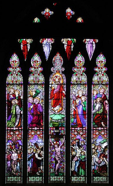 St Nicholas, Southfleet, Kent - East window