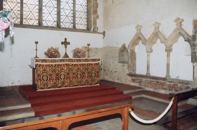 St Peter, Sandwich, Kent - Sanctuary