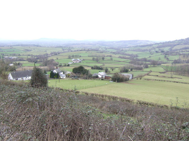 The rolling hills of Monmouthshire