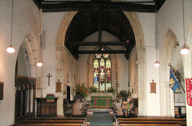 St Mary, High Halden, Kent - East end
