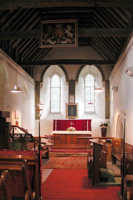 St Mary, Sevington, Kent - Chancel