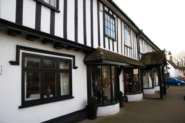 Shops in Stradbroke High Street