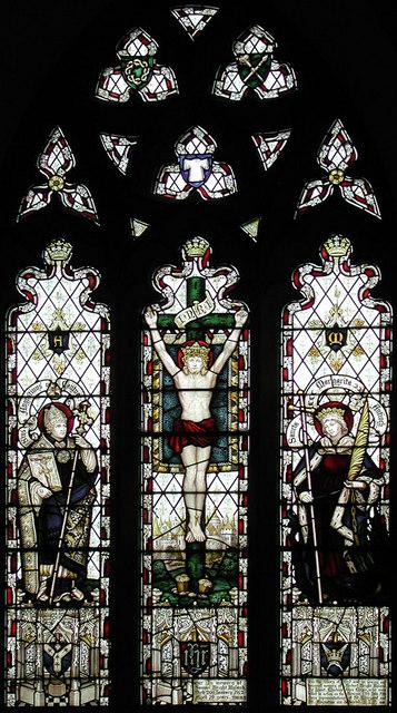 St Margaret, Bethersden, Kent - East window