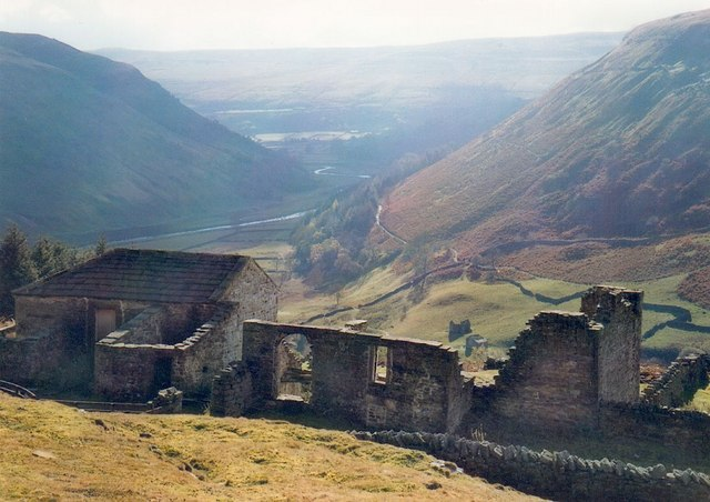 Crackpot Hall and Swaledale