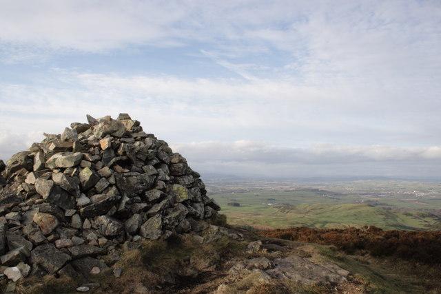 Screel Hill Summit Cairn
