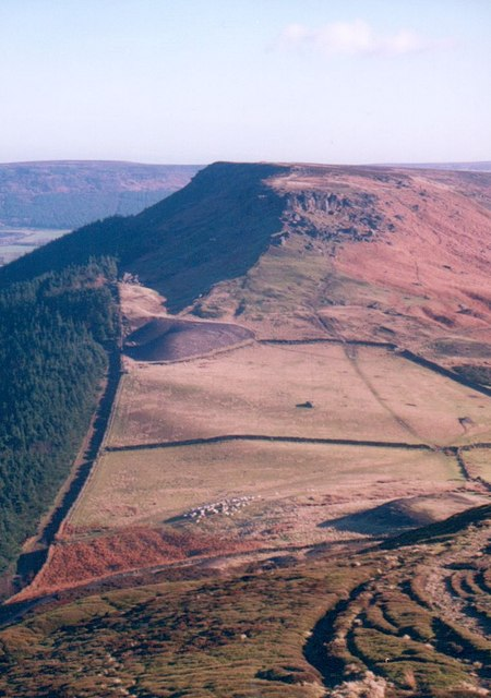 Heading east from Live Moor on the Cleveland Way