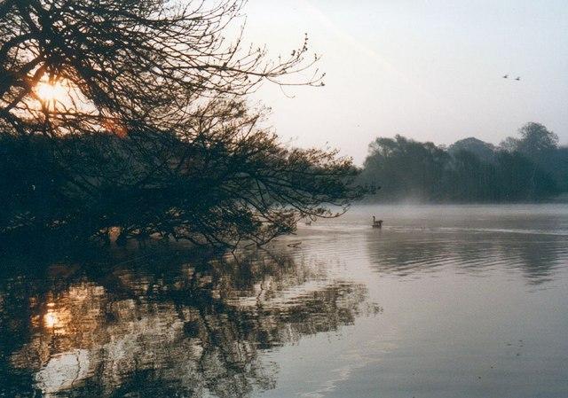 Early morning, Newburgh Lake