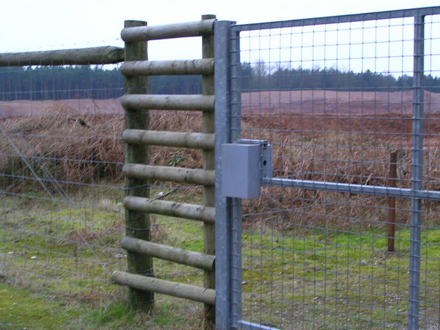 Fence and gate of Quarry extension