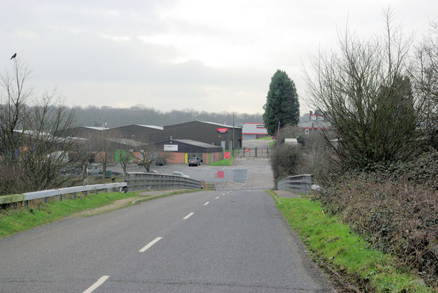 Entrance to Brands Hatch Paddocks.