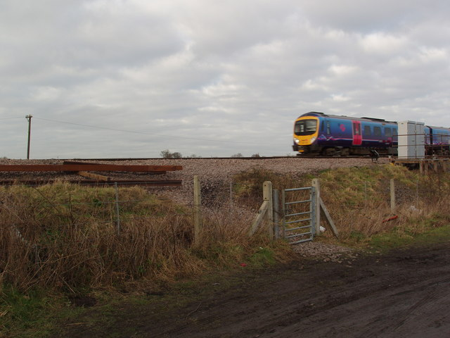 York to Leeds Railway Line near Colton Junction