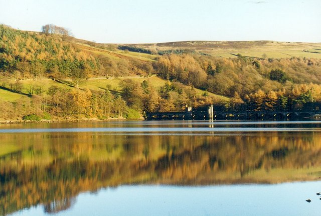 Gouthwaite Reservoir reflections.