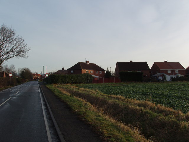 Houses at Wood View, Airmyn, Goole, East Yorkshire