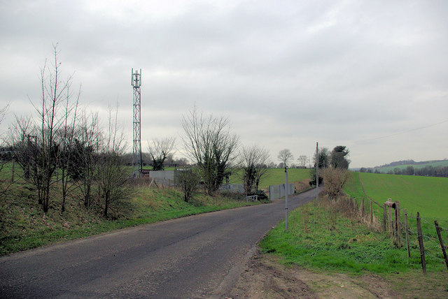 Telecommunications Mast by Eglantine Lane
