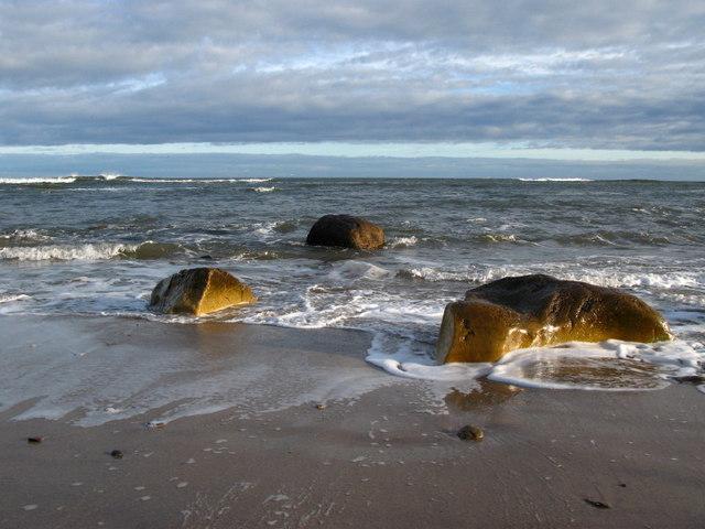 The Beach at Sharper's Head, Berwick-upon-Tweed